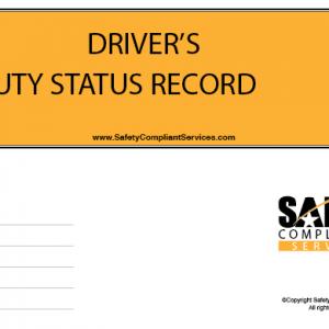 Drivers Duty Status